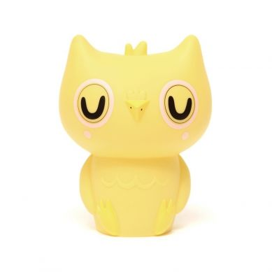 Petit Monkey - Lampka Owl Yellow