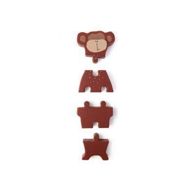 Trixie - Drewniane Puzzle Mr Monkey