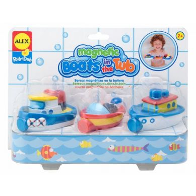 Alex Toys - Bath Magnetic Boats In The Tub
