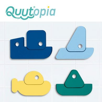 Quut - Zestaw Puzzli Piankowych Quutopia Łódki 10m+