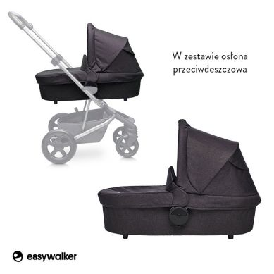 Easywalker - Harvey Gondola do Wózka Coal Black
