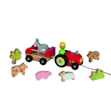 Janod - Traktor ze Zwierzętami do Ciągnięcia