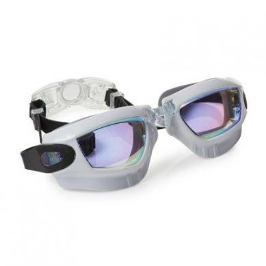 Bling2O - Okulary do Pływania Galaxy Białe 3+