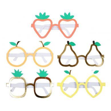 Meri Meri -   Okulary Papierowe Owoce
