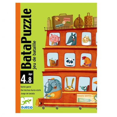 Djeco Gra Karciana BataPuzzle