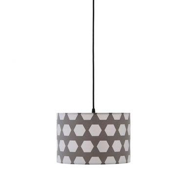 Kids Concept - Lampa Wisząca Hexagon Grey