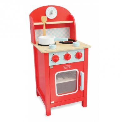 Indigo Jamm - Drewniana Kuchnia Mini Czerwona 3+