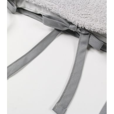 Muzpony - Mata do Przewijania ze Zdejmowanym Pokrowcem Milky Grey