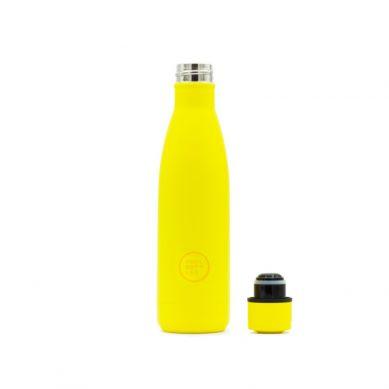 Cool Bottles - Butelka Termiczna 500 ml Triple Cool Neon Yellow
