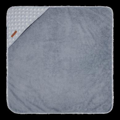 Little Dutch - Bawełniany Ręcznik Lily Leaves Blue