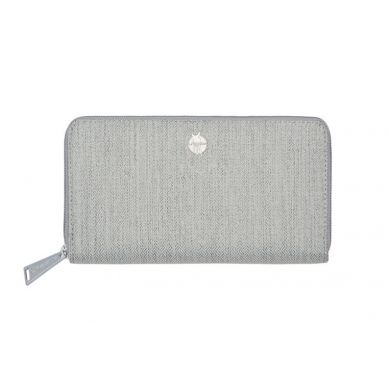 Laessig - Portfel Green Label z Etui na Karty Mix 'n Match Light Grey