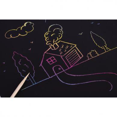 Apli Kids - Zestaw Wydrapywanek Magic Scratch A4 3+