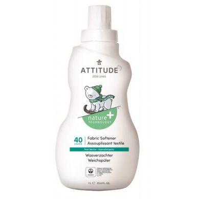 Attitude - Płyn do Płukania Ubranek Dziecięcych Gruszkowy Nektar Pear Nectar 40 płukań 1000 ml