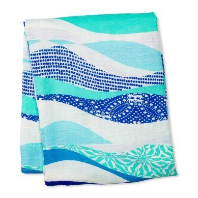 Lulujo - Kocyk Bambusowy Waves