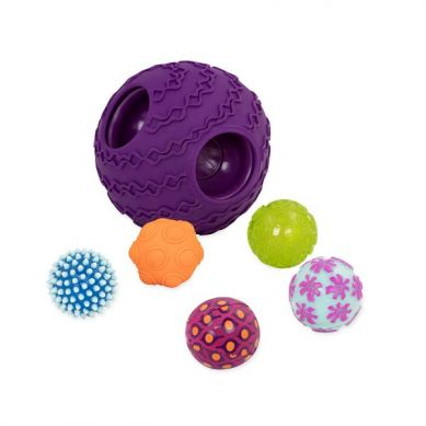 B.Toys - Ballyhoo Kula Sensoryczna z Piłkami Fioletowa