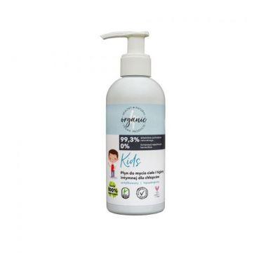Derma - Kids płyn do mycia ciała i higieny intymnej dla chłopców 200 ml