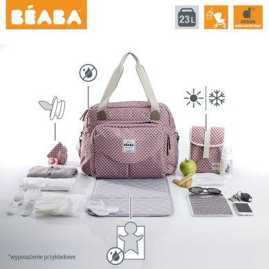 Beaba - Torba dla Mamy Geneva PLAY PRINT Marsala