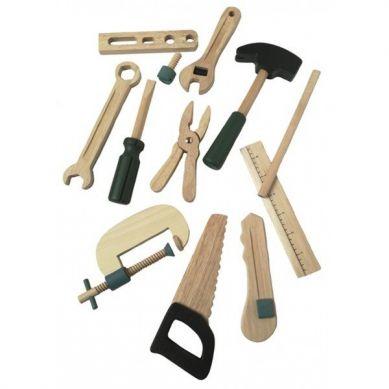 Egmont Toys - Drewniane Narzędzia do Zabawy w Walizce 3+