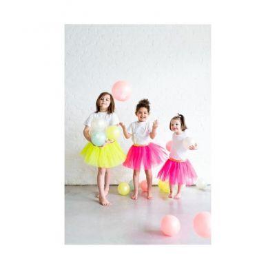 Ratatam - Piłka Mała 15 cm Glitter Summer Yellow