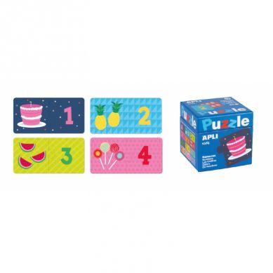 Apli Kids - Puzzle Dwuczęściowe Liczby 3+