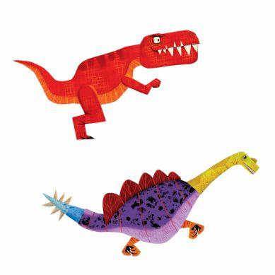 Mudpuppy - Magnetyczne Konstrukcje Dinozaury