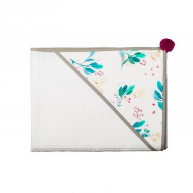 Malomi Kids - Ręcznik Garden Blushl 110x110 Blueberry