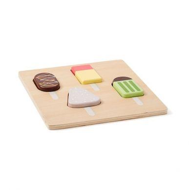 Kids Concept - Bistro Puzzle Drewniane Lody