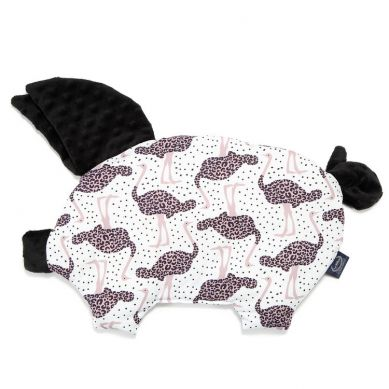 La Millou - Podusia do Wózka Sleepy Pig Speedy Me Bright Black 30x45cm