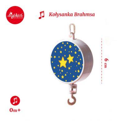 Sigikid - Pozytywka do Karuzeli nad Łóżeczko z Kołysanką Brahmsa