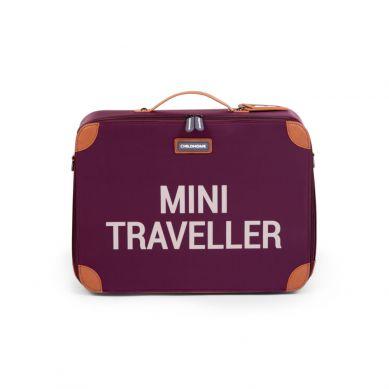 Childhome - Walizka Dziecięca Mini Traveller Aubergine