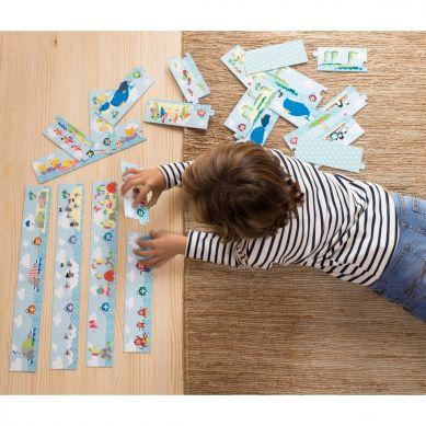 Apli Kids - Puzzle do Nauki Dodawania Myszki 5+