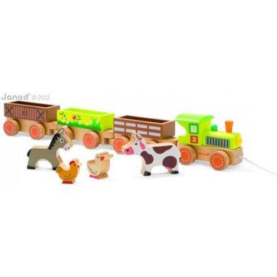 Janod -  Baby Pociąg Farma