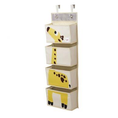 3 Sprouts - Organizer Ścienny Wiszący Żyrafa