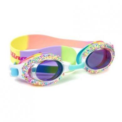 Bling2O - Okulary do Pływania Ciasteczkowa Posypka 3+