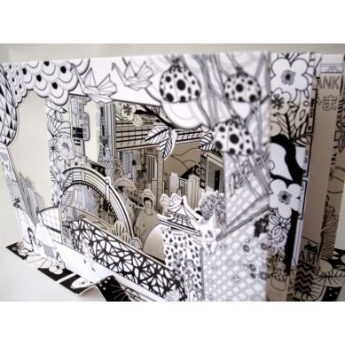 Mon Petit Art - Zestaw Kreatywny Teatrzyk 3D Tokyo 7+