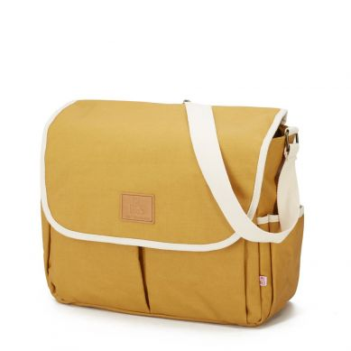 My Bag's - Torba do Wózka Flap Bag Happy Family Ochre