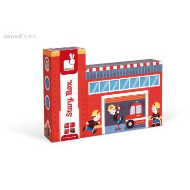 Janod - Story Box Straż Pożarna