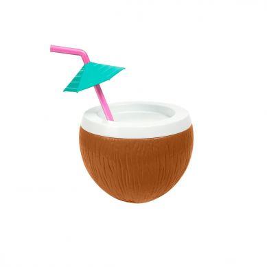 Sunnylife - Kubek ze Słomką na Plażę Coconut