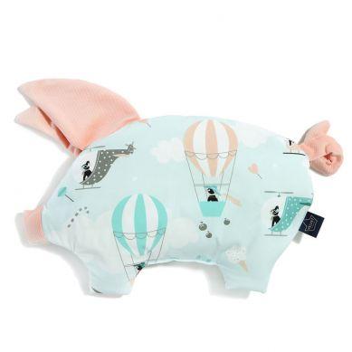 La Millou - Podusia do Wózka Sleepy Pig Miss Cloudy Powder Pink