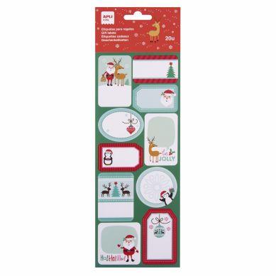 Apli Kids - Etykiety Świąteczne Renifery
