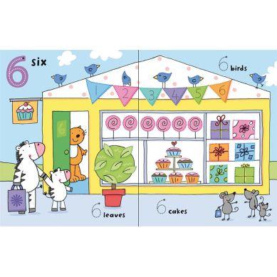 Wydawnictwo Usborne Publishing - Wipe-clean 123