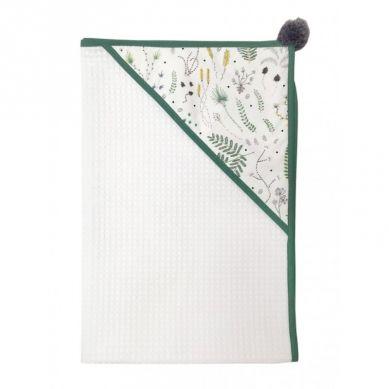 Malomi Kids - Ręcznik Wild Forest Green 110x110