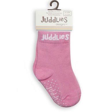 Juddlies - Skarpetki White/Pink 0-12m