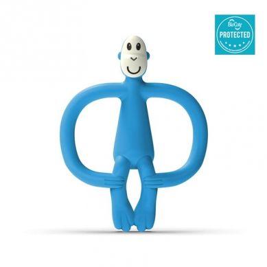 Matchstick Monkey - Gryzak Masujący ze Szczoteczką Azure Blue