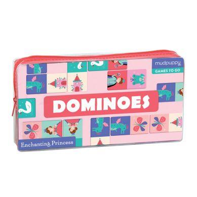 Mudpuppy - Gra Domino Księżniczka w Podróżnym Opakowaniu