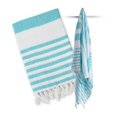 Lulujo - Ręcznik Turecki 3 w 1 Blue