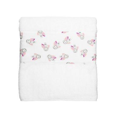 Maki Mon Ami - Duży Ręcznik Kąpielowy z Sową Polą