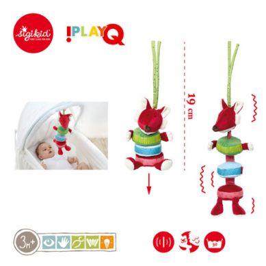 Sigikid - Wibrujący Lisek z Zawieszką 3m+ PlayQ