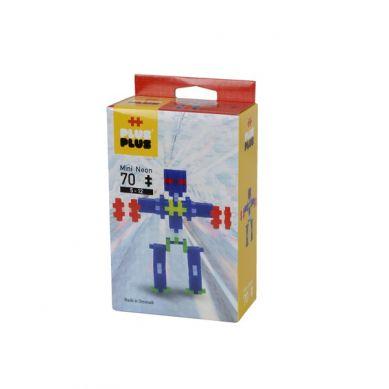 Plus Plus - Klocki Mini Neon 70 Roboty