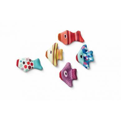 Lilliputiens - Zabawki do Wody Rybki Pacynki z Neoprenu